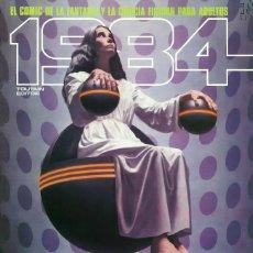 Cómics: COMIC 1984 Nº 59 - FANTASIA Y CIENCIA FICCION - TOUTAIN EDITOR - 1983 - MUY BUEN ESTADO. Lote 269482498