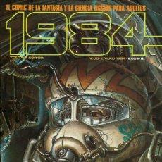 Cómics: COMIC 1984 Nº 60 - FANTASIA Y CIENCIA FICCION - TOUTAIN EDITOR - 1984 - MUY BUEN ESTADO. Lote 269482723