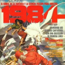 Cómics: COMIC 1984 Nº 63 - FANTASIA Y CIENCIA FICCION - TOUTAIN EDITOR - 1984 - MUY BUEN ESTADO. Lote 269483198