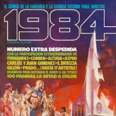 Cómics: COMIC 1984 Nº 64 - EXTRA DESPEDIDA - TOUTAIN EDITOR - 1984 - MUY BUEN ESTADO. Lote 269483448