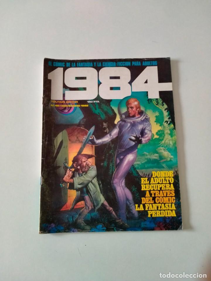CÓMIC 1984 NÚMERO 46 TOUTAIN EDITOR AÑO 1982 (Tebeos y Comics - Toutain - 1984)