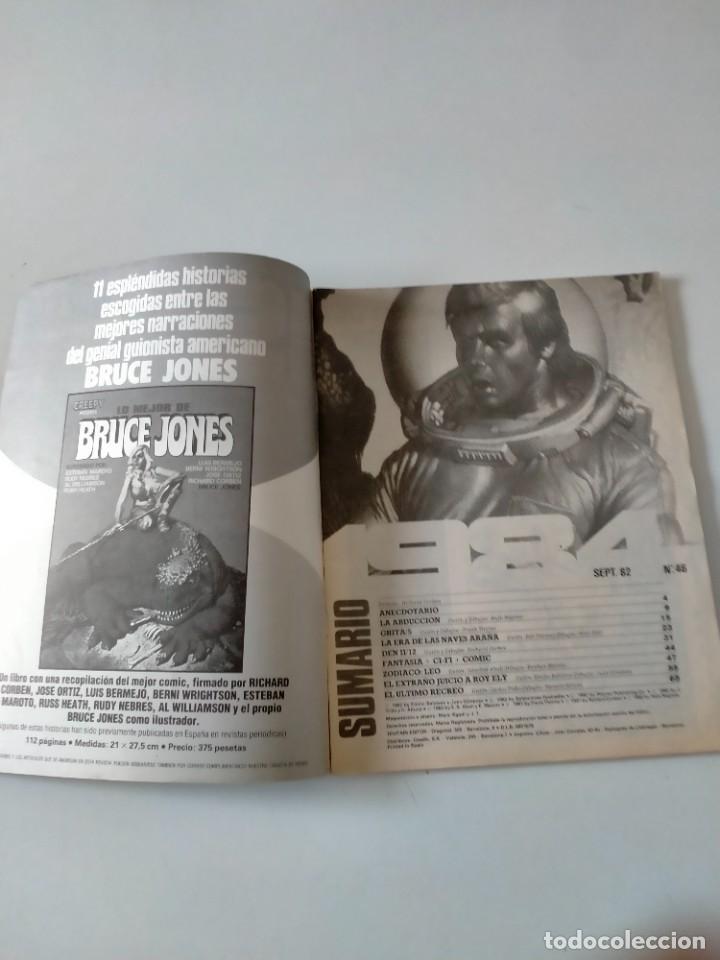 Cómics: Cómic 1984 número 46 Toutain Editor Año 1982 - Foto 3 - 270142018