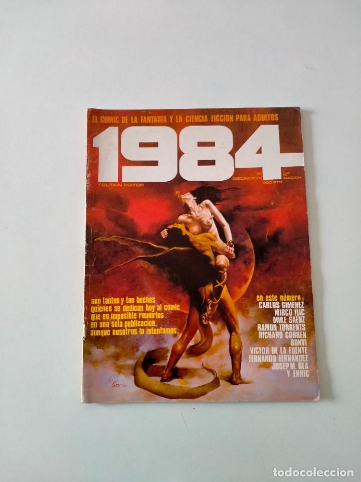 CÓMIC 1984 NÚMERO 19 TOUTAIN EDITOR AÑO 1980 (Tebeos y Comics - Toutain - 1984)