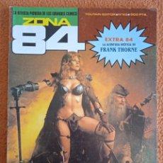 Cómics: ZONA 84 - Nº 85 - REVISTA DE CÓMIC - 1ª EDICION - TOUTAIN - 1991 -. Lote 270899913