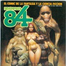 Comics: TOUTAIN. ZONA 84. 38. Lote 271176758