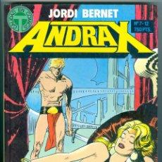 Cómics: TOUTAIN. ANDRAX. 7-12. RETAPADOS.. Lote 271250173