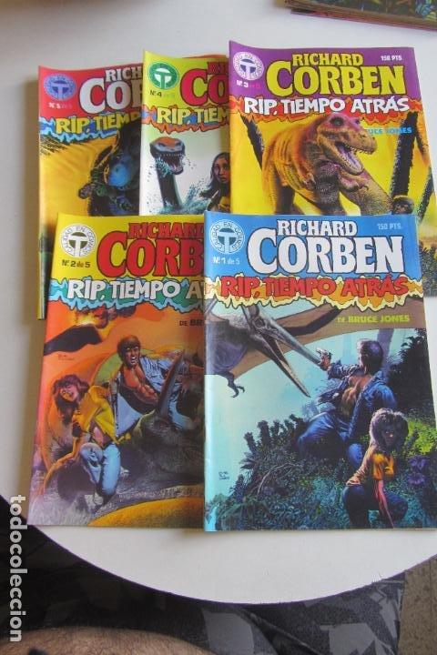 RIP TIEMPO ATRAS COMPLETA RICHARD CORBEN TOUTAIN ARX114 (Tebeos y Comics - Toutain - Obras Completas)