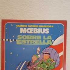 Fumetti: COMIC - GRANDES AUTORES EUROPEOS 4 - MOEBIUS: SOBRE LA ESTRELLA - TOUTAIN - IMPECABLE. Lote 273132453
