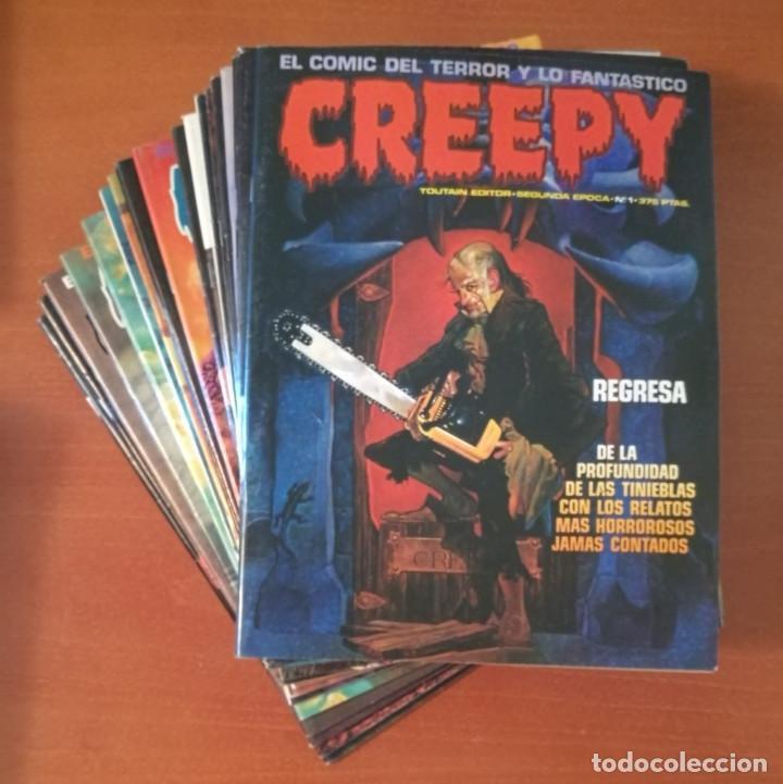 CREEPY TOUTAIN EDITOR COMPLETA 19 Nº. (Tebeos y Comics - Toutain - Creepy)