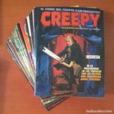 Cómics: CREEPY TOUTAIN EDITOR COMPLETA 19 Nº.. Lote 273634313