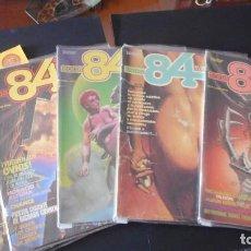 Cómics: LOTE DE 5 COMICS DE ZONA 84 Nº 6,7,9,11,12 /C-1. Lote 274398698