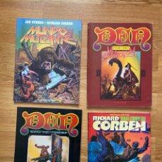 Cómics: RICHARD CORBEN 4 PUBLICACIONES PRIMERAS EDICIONES ESPAÑA. Lote 274628958