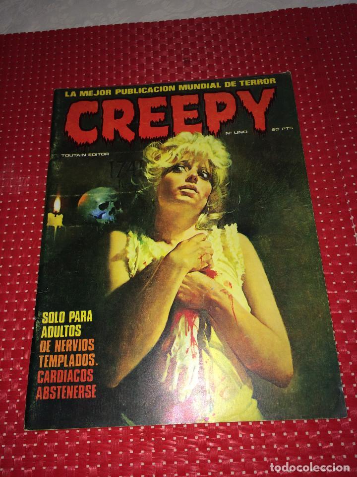 CREEPY - Nº 1 - TOUTAIN EDITOR - AÑO 1979 - BUEN ESTADO (Tebeos y Comics - Toutain - Creepy)