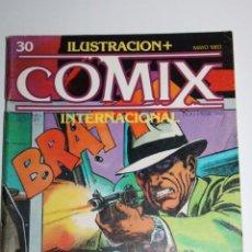 Cómics: ILUSTRACION + COMIX INTERNACIONAL 30 PEPE GONZALEZ, TOUUTAIN. Lote 275074598