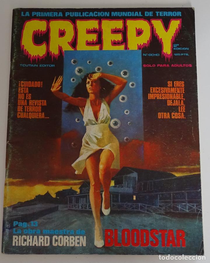 CREEPY (Nº 8) - EDICIONES TOUTAIN (Tebeos y Comics - Toutain - Creepy)