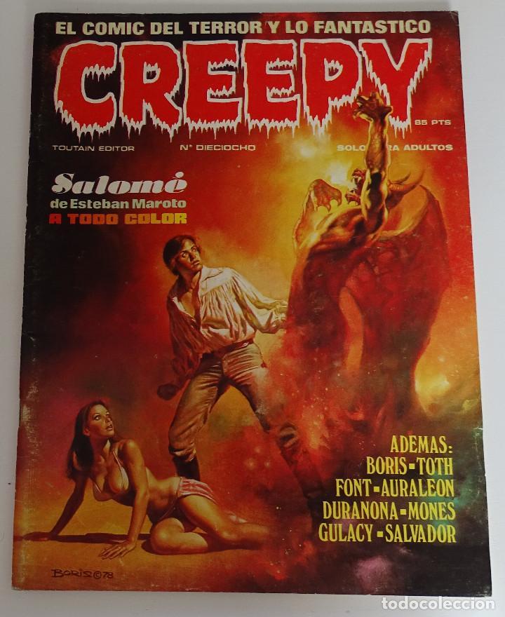 CREEPY (Nº 18) - EDICIONES TOUTAIN (Tebeos y Comics - Toutain - Creepy)