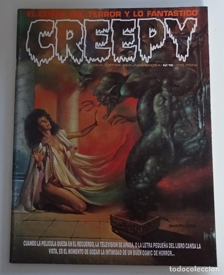 CREEPY (Nº 16) - EDICIONES TOUTAIN (Tebeos y Comics - Toutain - Creepy)