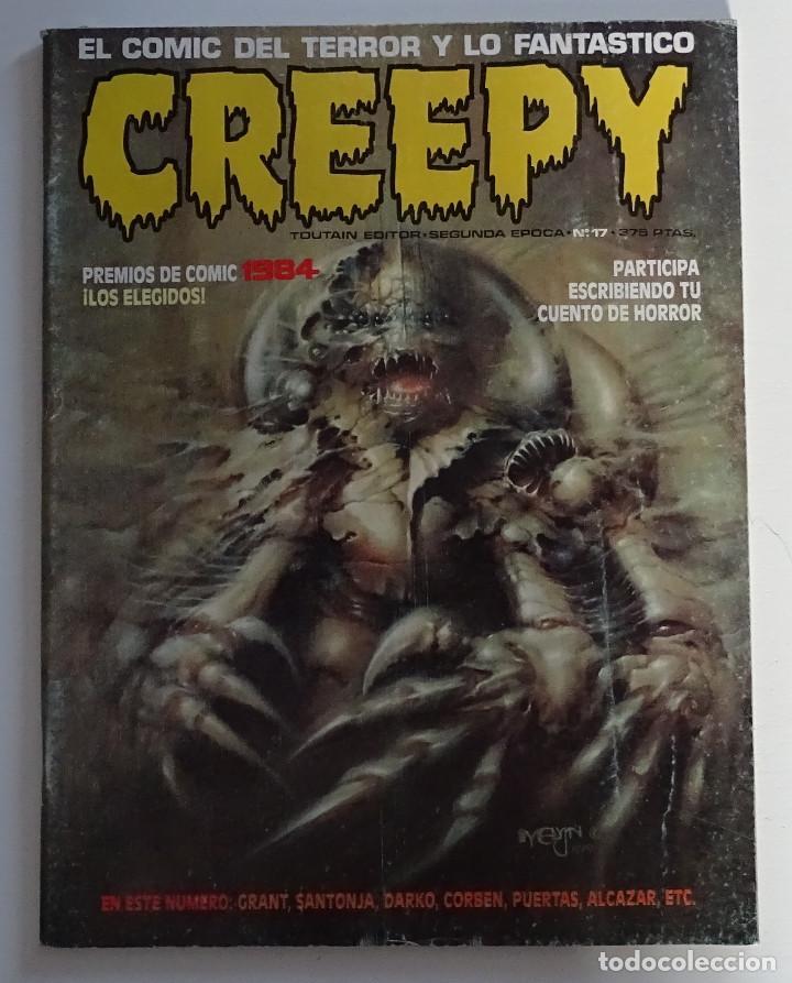 CREEPY (Nº 17) - EDICIONES TOUTAIN (Tebeos y Comics - Toutain - Creepy)