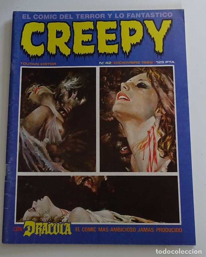 CREEPY (Nº 42) - EDICIONES TOUTAIN (Tebeos y Comics - Toutain - Creepy)
