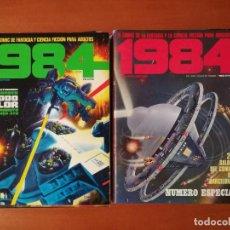 Cómics: 1984 TOUTAIN EDITOR COMPLETA 64 Nº MÁS 7 ALMANAQUES/EXTRAS. Lote 275304348