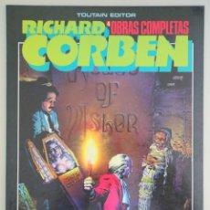 Cómics: CORBEN, RICHARD - RICHARD CORBEN 4. OBRAS COMPLETAS: LA CAÍDA DE LA CASA USHER- BARCELONA 1985 - ILU. Lote 275531948
