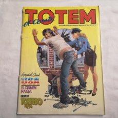 Cómics: TOTEM EL COMIX 19. TOUTAIN EDITOR. CON JORDI BERNET, MILO MANARA, CARLOS GIMÉNEZ, JOAN BOIX, ETC. Lote 275626668