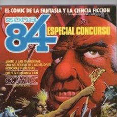 Cómics: ZONA 84 + COMIX INTERNACIONAL - ESPECIAL CONCURSO - TOUTAIN EDITOR.. Lote 275695148