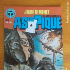 Fumetti: AS DE PIQUE Nº 8 - JUAN GIMENEZ, RICARDO BARREIRO - TOUTAIN (AL). Lote 275700503