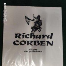 Cómics: RICHARD CORBEN. PILGOR THE PLUNDERER. PORTFOLIO CON 8 LAMINAS. ESTA PRECINTADO. TOUTAIN.. Lote 275784598