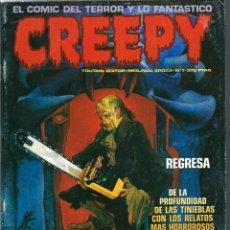 Cómics: CREEPY SEGUNDA EPOCA Nº 1 - TOUTAIN EDITOR 1990. Lote 275789743