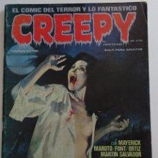 Comics: CREEPY (Nº 21) - EDICIONES TOUTAIN. Lote 275961693