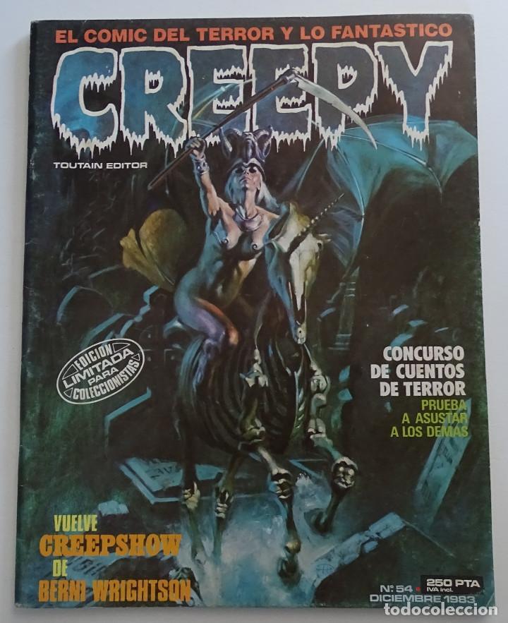CREEPY (Nº 54) - EDICIONES TOUTAIN (Tebeos y Comics - Toutain - Creepy)