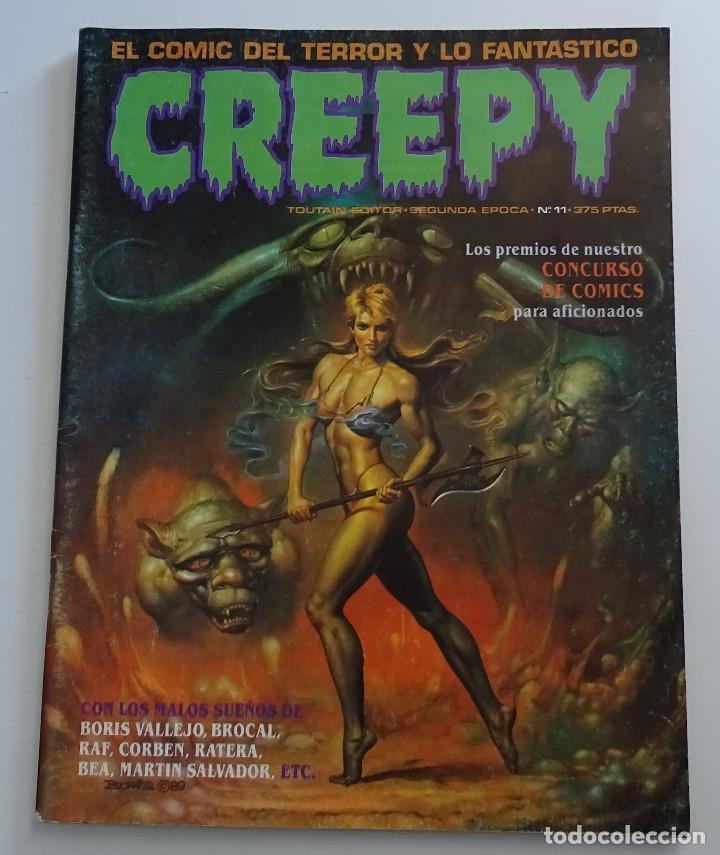 CREEPY (Nº 11) - EDICIONES TOUTAIN (Tebeos y Comics - Toutain - Creepy)
