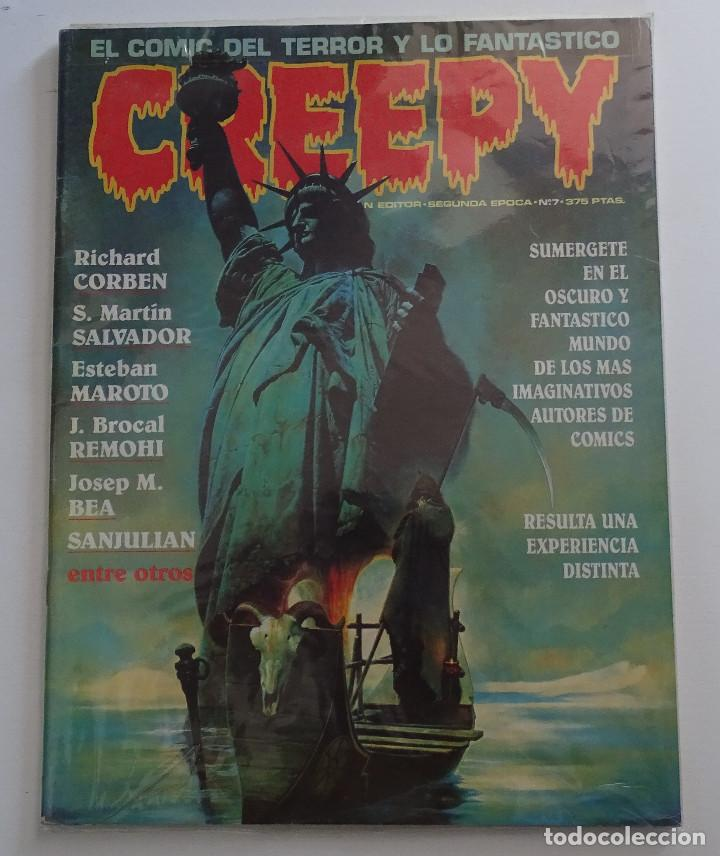 CREEPY (Nº 7) - EDICIONES TOUTAIN (Tebeos y Comics - Toutain - Creepy)