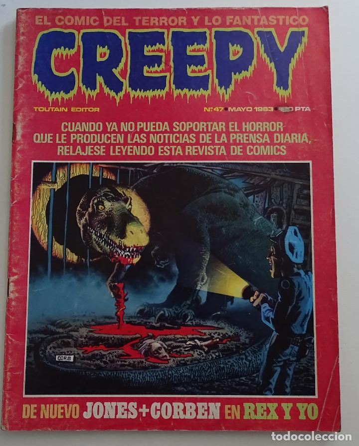CREEPY (Nº 47) - EDICIONES TOUTAIN (Tebeos y Comics - Toutain - Creepy)