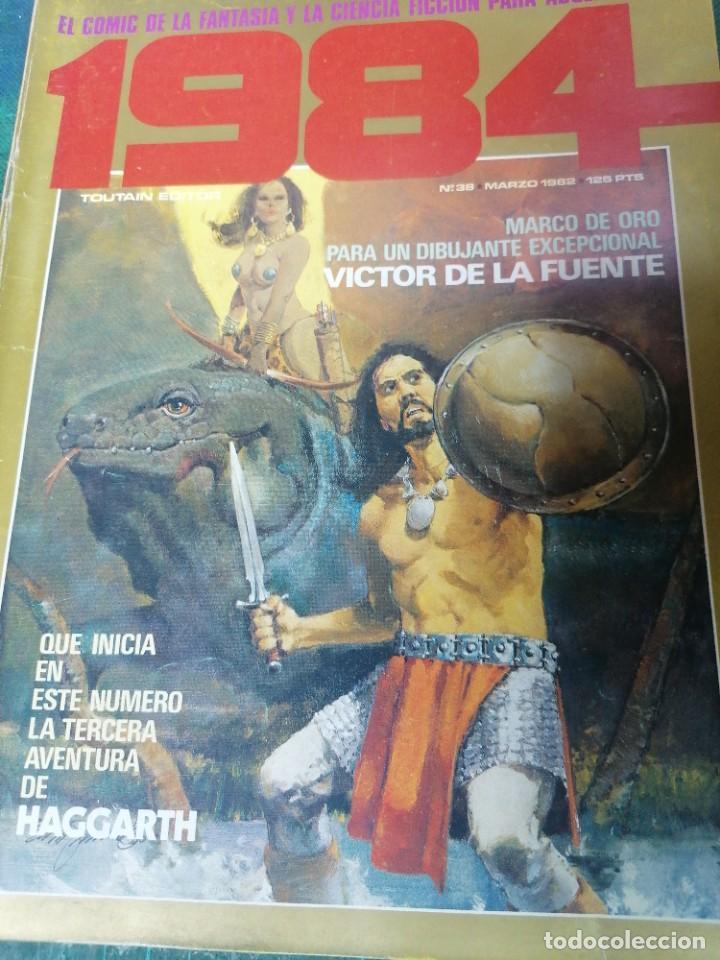 1984. N. 38 (Tebeos y Comics - Toutain - 1984)