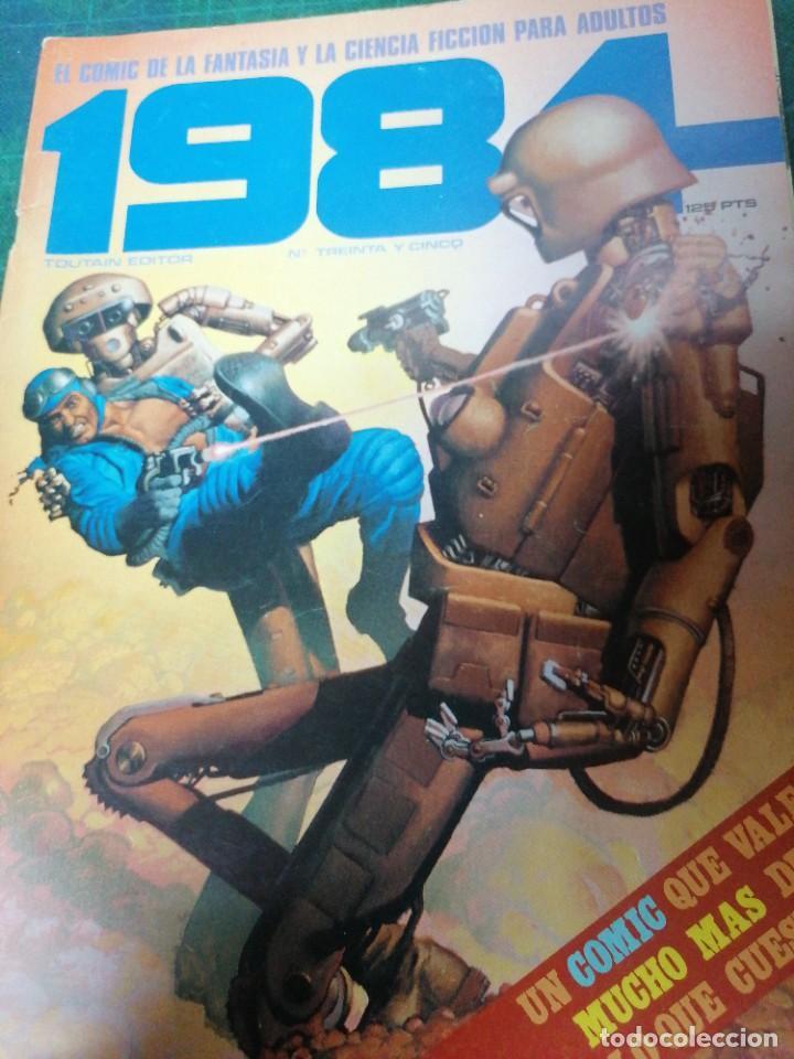 1984. N. 35 (Tebeos y Comics - Toutain - 1984)