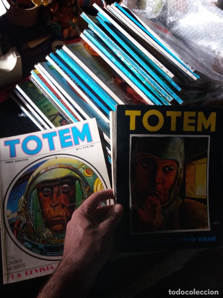 LOTAZO DE COMIX TOTEM (Tebeos y Comics - Toutain - Comix Internacional)