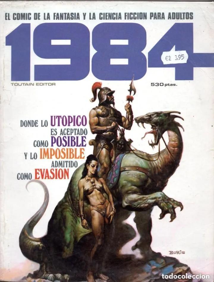1984 EXTRA 2 RETAPADO CON LOS NUMEROS 17 (INCLUYE POSTER), 18 Y 20 - TOUTAIN - SUB02M (Tebeos y Comics - Toutain - 1984)