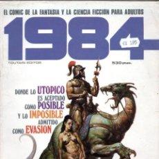 Cómics: 1984 EXTRA 2 RETAPADO CON LOS NUMEROS 17 (INCLUYE POSTER), 18 Y 20 - TOUTAIN - SUB02M. Lote 275990243