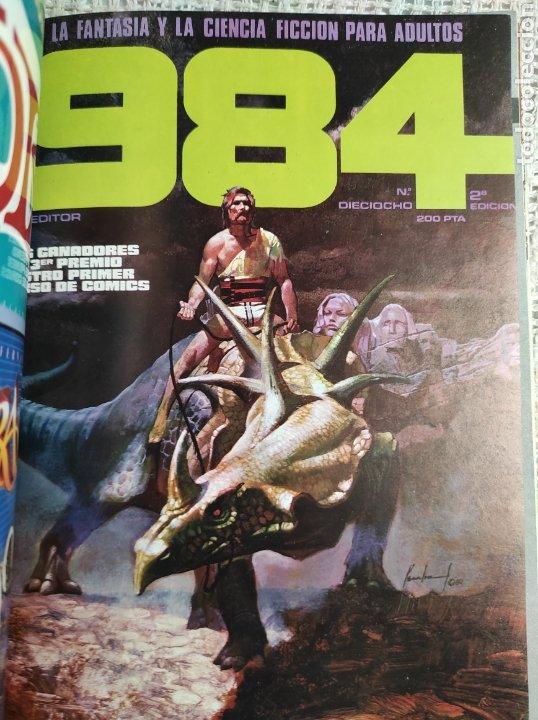 Cómics: TOMO COMICS - CONTIENE ALMANAQUE DE 1984 + Nº 18 Y 30 - TOMO RECOPILATORIO - Foto 3 - 276002273