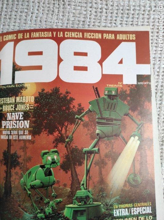Cómics: TOMO COMICS - CONTIENE ALMANAQUE DE 1984 + Nº 18 Y 30 - TOMO RECOPILATORIO - Foto 4 - 276002273