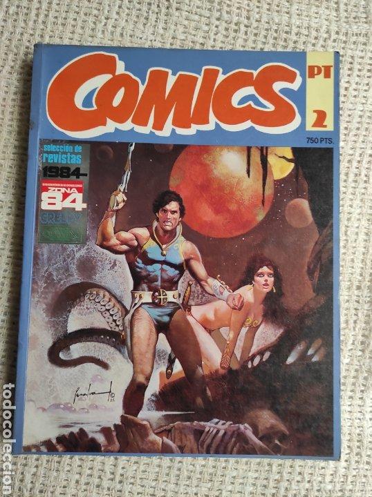 TOMO COMICS - CONTIENE ALMANAQUE DE 1984 + Nº 18 Y 30 - TOMO RECOPILATORIO (Tebeos y Comics - Toutain - 1984)