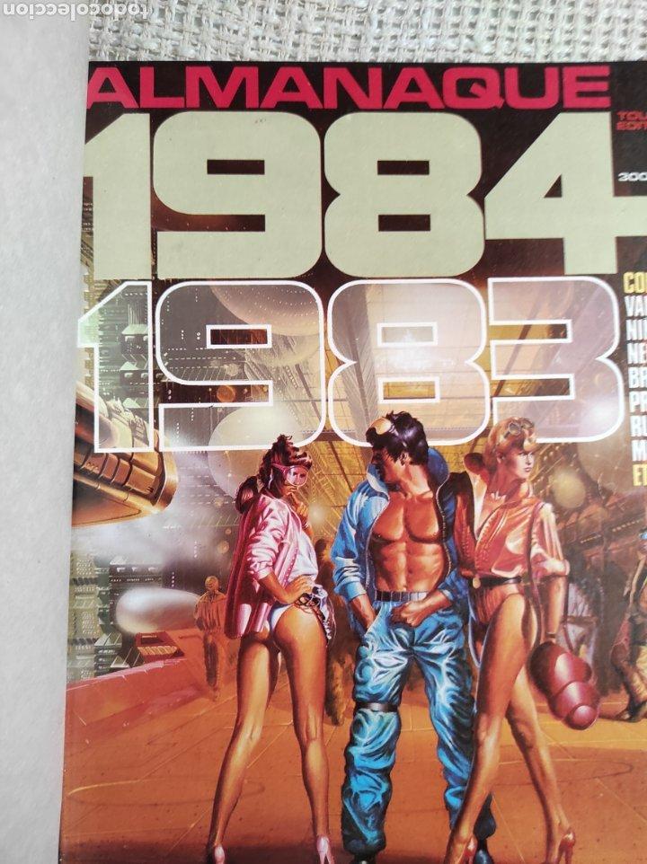 Cómics: TOMO COMICS - CONTIENE ALMANAQUE DE 1984 PARA 1983 + 1984 CONCURSO + ZONA 84 Nº 5 - Foto 2 - 276002623