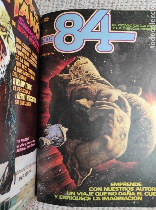 Cómics: TOMO COMICS - CONTIENE ALMANAQUE DE 1984 PARA 1983 + 1984 CONCURSO + ZONA 84 Nº 5 - Foto 3 - 276002623