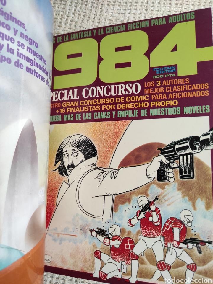 Cómics: TOMO COMICS - CONTIENE ALMANAQUE DE 1984 PARA 1983 + 1984 CONCURSO + ZONA 84 Nº 5 - Foto 4 - 276002623