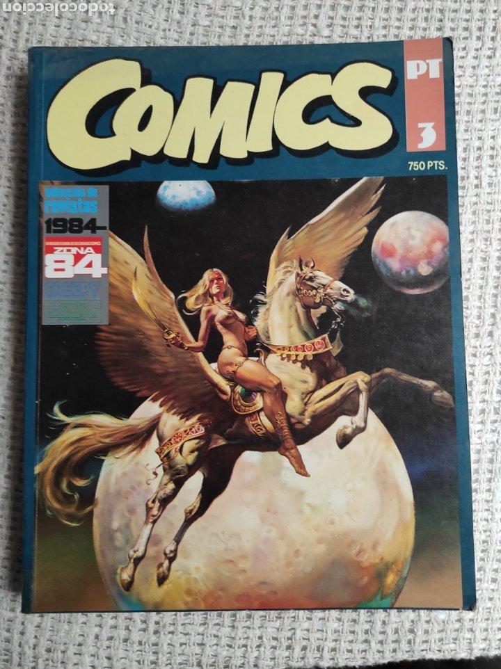 TOMO COMICS - CONTIENE ALMANAQUE DE 1984 PARA 1983 + 1984 CONCURSO + ZONA 84 Nº 5 (Tebeos y Comics - Toutain - 1984)