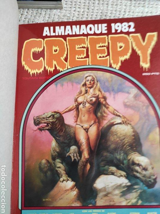 Cómics: TOMO COMICS - CONTIENE ALMANAQUE CREEPY 1982 + Nº 6 + Nº 70 - Foto 2 - 276002808