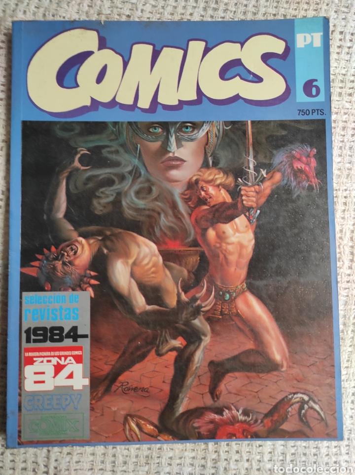 TOMO COMICS - CONTIENE ALMANAQUE CREEPY 1982 + Nº 6 + Nº 70 (Tebeos y Comics - Toutain - 1984)