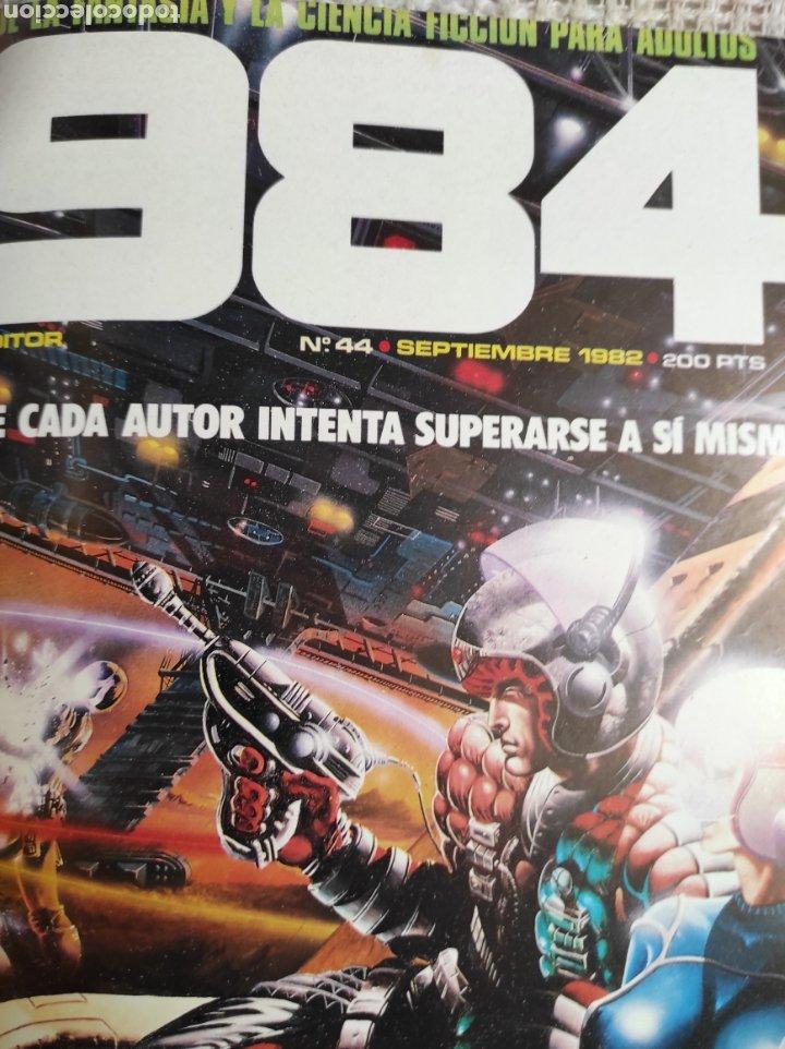 Cómics: TOMO COMICS - CONTIENE ALMANAQUE ZONA 84 PARA 1986 + 1984 Nº 44 + Nº ZONA 84 - Foto 3 - 276003288
